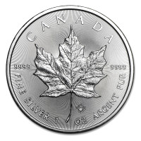 Stříbrná mince Canadian Maple Leaf 1 oz (2017)